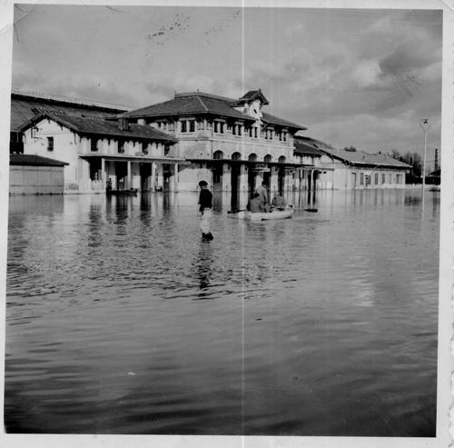 Gare-de-Dax-crue-de-19521