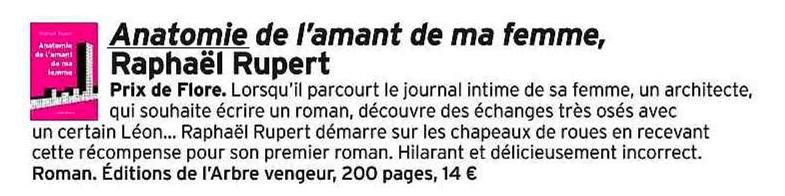 Anatomie De Lamant De Ma Femme éditions De Larbre Vengeur